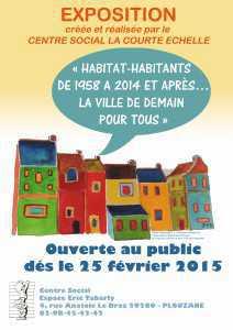 Affiche Expo Habitat-Habitants